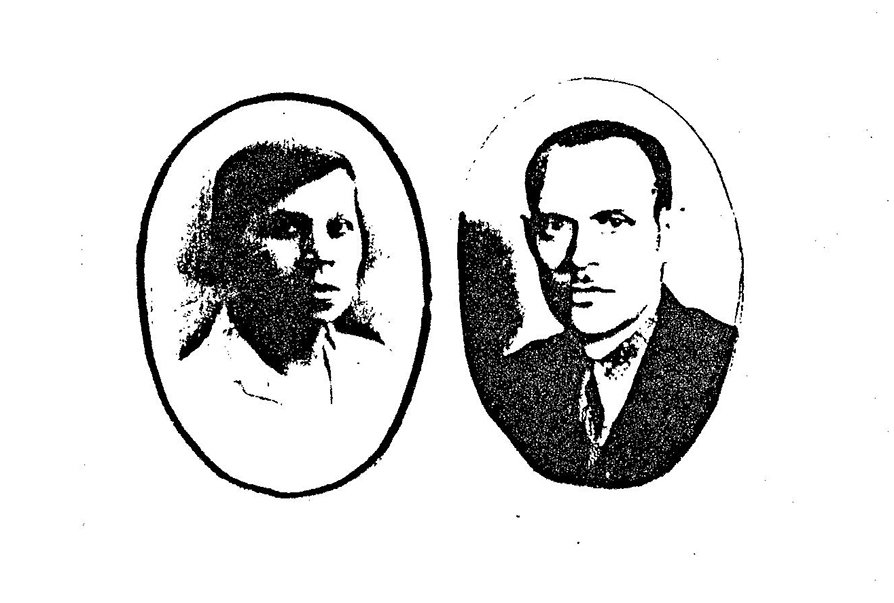 Winek and his wife