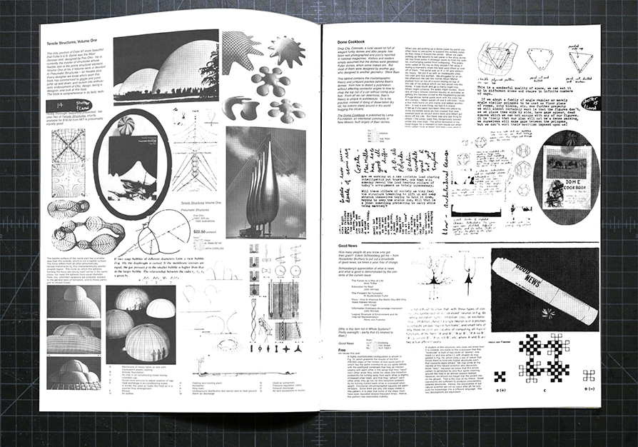 Spread from Whole Earth Catalog